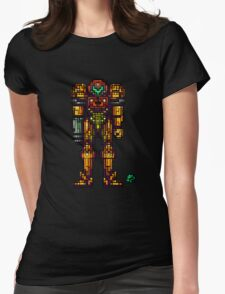 Samus Aran - The Metroid Slayer Womens Fitted T-Shirt