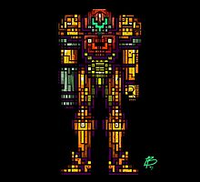 Samus Aran - The Metroid Slayer by NathanielBart