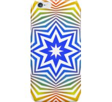 Colorful Radial Pattern iPhone Case/Skin