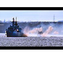 HMS Collingwood Photographic Print