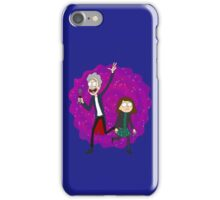 Doc and Clara! - Doctor Who iPhone Case/Skin