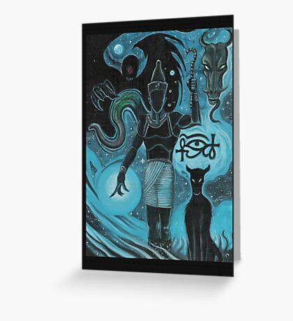 Nyarlethotep Greeting Card