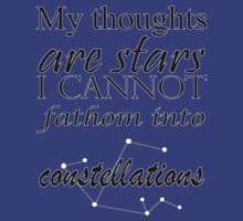 My thoughts are stars by Posshy