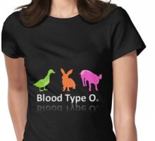 TYPE O Womens Fitted T-Shirt