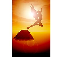 Flying too near the Sun Photographic Print