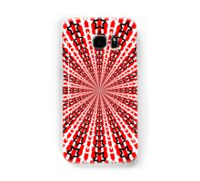 Abstract / Psychedelic Radial Pattern Samsung Galaxy Case/Skin