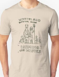 Wasteland Survival Guide - Farming Cover - Fallout 4 T-Shirt