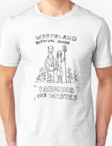 Wasteland Survival Guide - Farming Cover - Fallout 4 Unisex T-Shirt