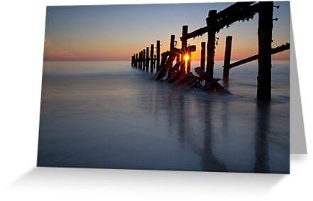 Happisburgh sunrise by cieniu1