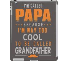 Papa Cool Shirts iPad Case/Skin
