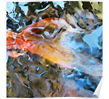 Abstract Fish Art - Fairy Tail Poster