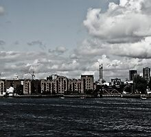 London Thames  by A.David Holloway