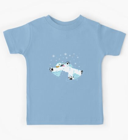 Wampa snow angel  Kids Tee