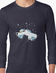 Wampa snow angel  Long Sleeve T-Shirt
