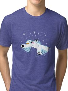 Wampa snow angel  Tri-blend T-Shirt