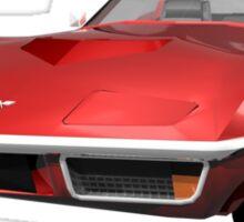 Red 1970 Corvette Sticker