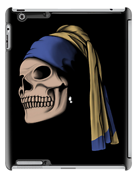 The Skull with a Pearl Earring by perdita00
