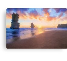 12 Apostles with Marshmallow Skies  (OG) Canvas Print