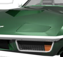 Green 1970 Corvette Sticker