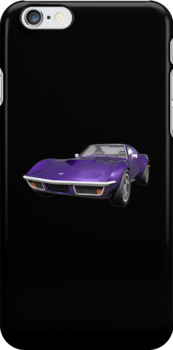 Purple 1970 Corvette by bradyarnold