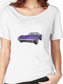 Purple 1970 Corvette Women's Relaxed Fit T-Shirt