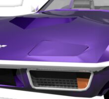 Purple 1970 Corvette Sticker