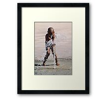 WATER CHILD Framed Print