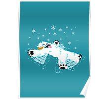 Wampa snow angel  Poster
