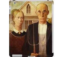 American Gothic iPad Case iPad Case/Skin