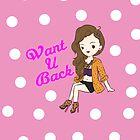 WANT U BACK POLKA DOTS by CelebLife