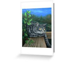 A Silent Watcher Greeting Card