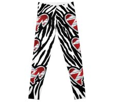 HBK (Heart Break Kid) Leggings (Pro Wrestling) Leggings