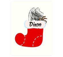 Dixon Stocking Art Print