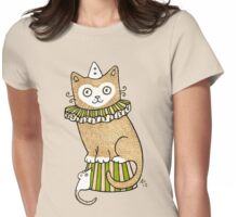 Circus Cat (Clothing) Womens Fitted T-Shirt