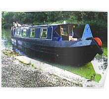 Narrowboat Summer 2012 Poster