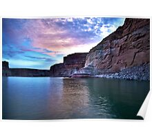 Sunset over Lake Powell Poster