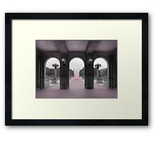 PA Breast Cancer Awareness Framed Print