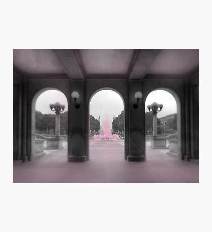 PA Breast Cancer Awareness Photographic Print