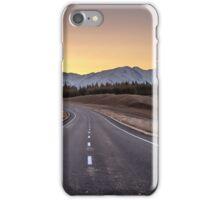 Open Road Sunset iPhone Case/Skin