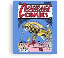 Courage Comics Canvas Print