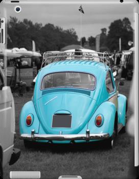 Volkswagen Beetle ipad case by Martyn Franklin