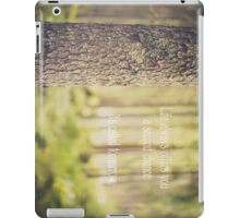 life always offers you a second chance. it's called tomorrow iPad Case/Skin