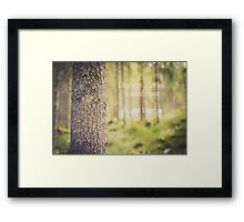 life always offers you a second chance. it's called tomorrow Framed Print