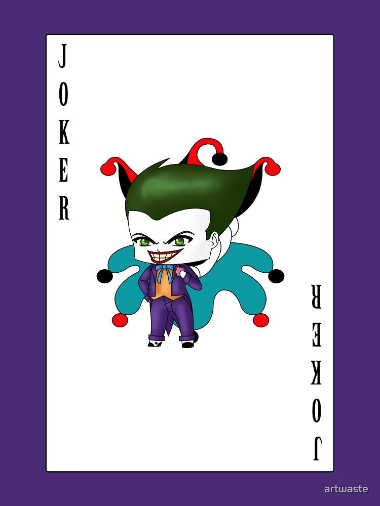 Chibi Joker by artwaste
