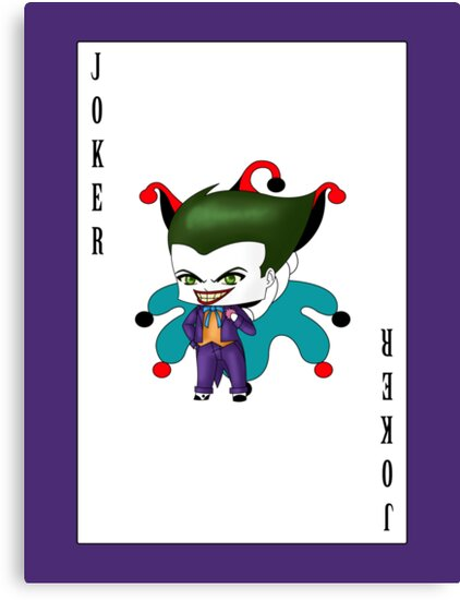 Chibi Joker by artwaste