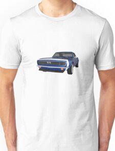 Blue 1967 Camaro SS Unisex T-Shirt