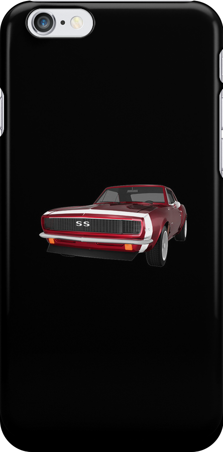Candy Apple 1967 Camaro SS by bradyarnold