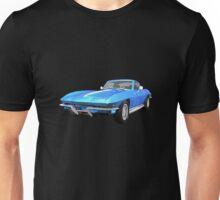 Blue 1967 Corvette Stingray Unisex T-Shirt