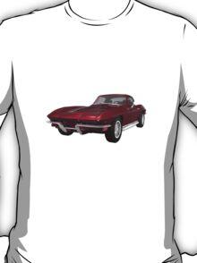 Candy Apple 1967 Corvette Stingray T-Shirt
