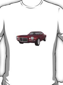 Candy Apple 1972 Camaro  T-Shirt